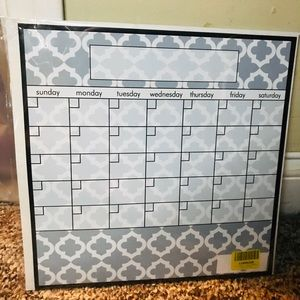 Other - New dry erase calendar